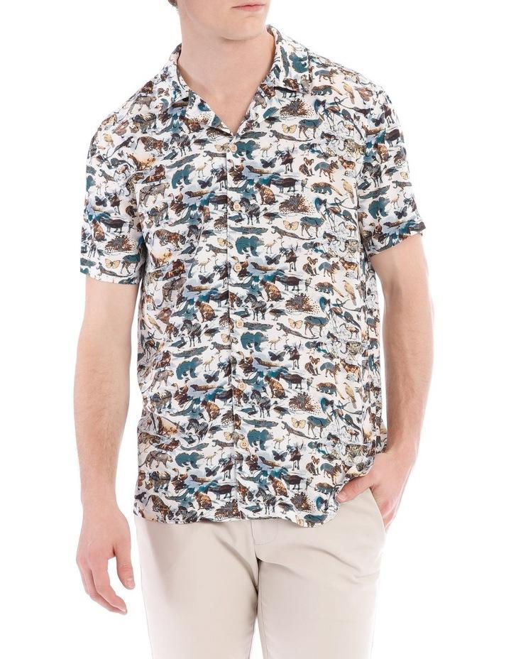 Madagascar Short Sleeve Rayon Shirt image 1