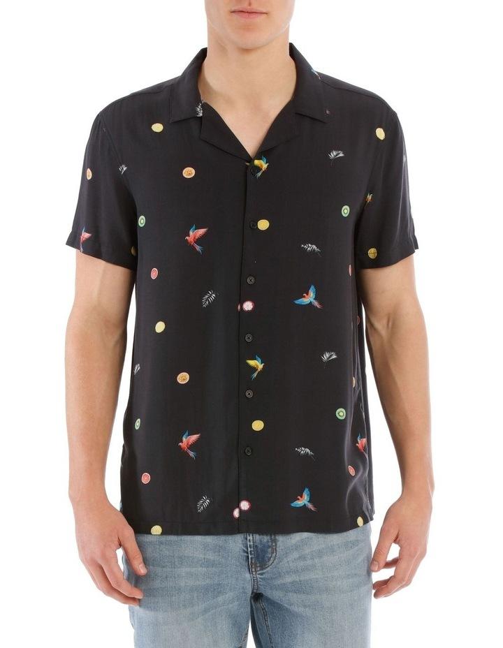 Tropical Flight Short Sleeve Rayon Shirt image 1