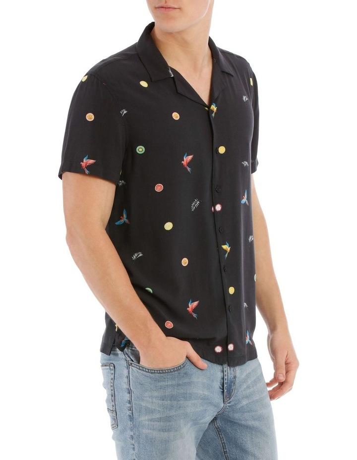 Tropical Flight Short Sleeve Rayon Shirt image 2