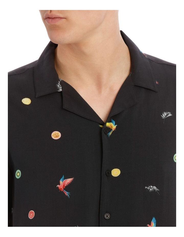 Tropical Flight Short Sleeve Rayon Shirt image 4