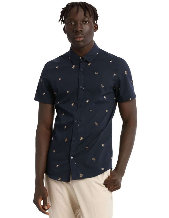 Crustacean Short Sleeve Print Shirt image 1