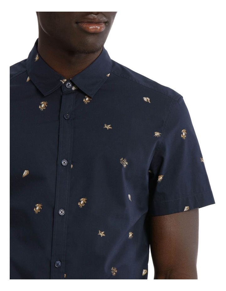 Crustacean Short Sleeve Print Shirt image 4