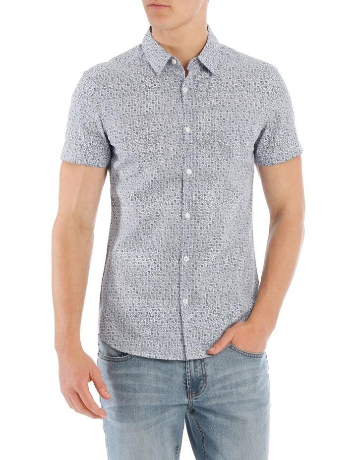 Checkers Short Sleeve Print image 1