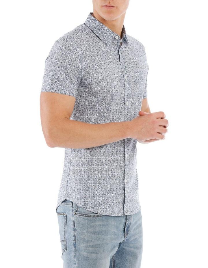 Checkers Short Sleeve Print image 2