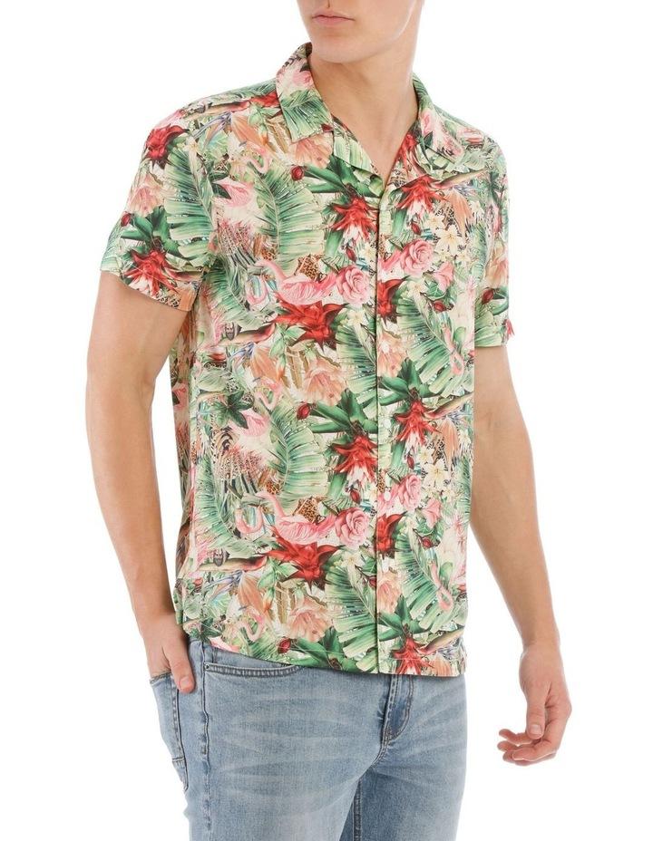 Mangani Short Sleeve Rayon Print Shirt image 2