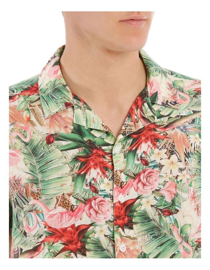 Mangani Short Sleeve Rayon Print Shirt image 4