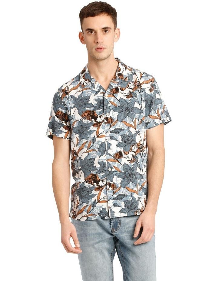 Falcon Short Sleeve Rayon Print Shirt image 1