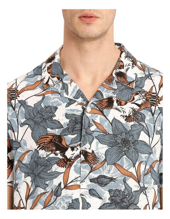 Falcon Short Sleeve Rayon Print Shirt image 4