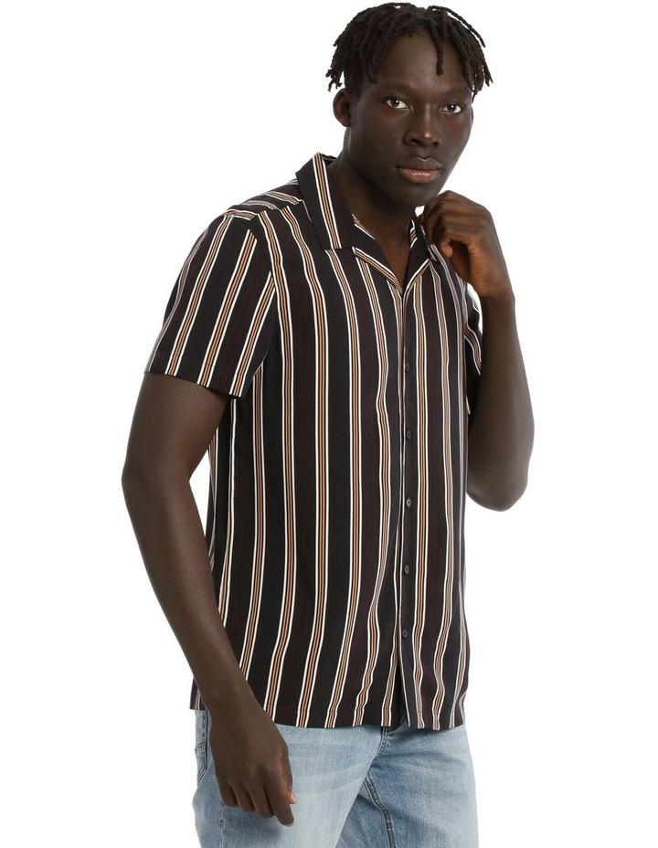 Falls Short Sleeve Rayon Stripe Shirt image 2