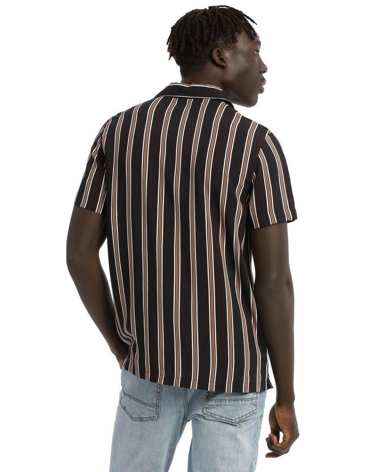 Falls Short Sleeve Rayon Stripe Shirt image 3