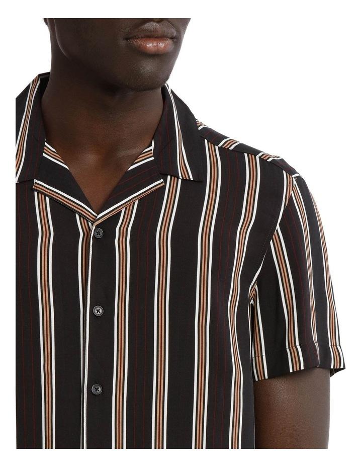 Falls Short Sleeve Rayon Stripe Shirt image 4