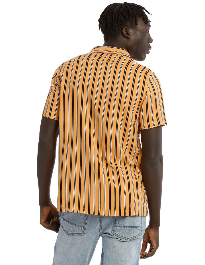 Groovin Short Sleeve Rayon Stripe Shirt image 3