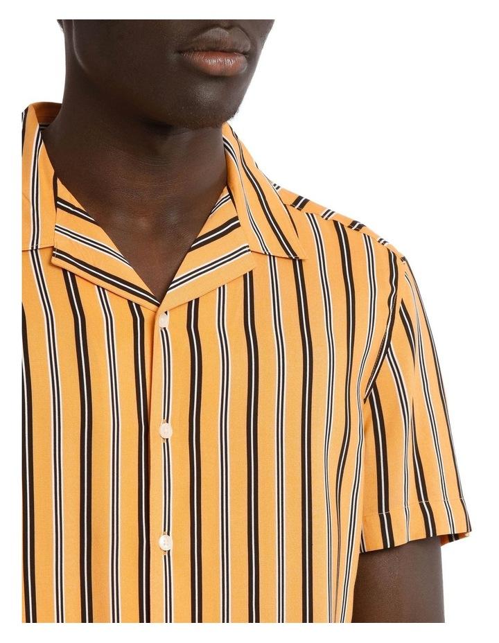 Groovin Short Sleeve Rayon Stripe Shirt image 4
