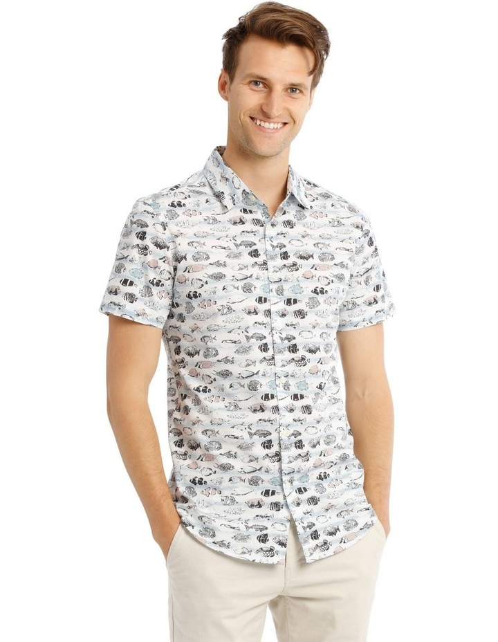 Shark Bait Short Sleeve Print Shirt image 1