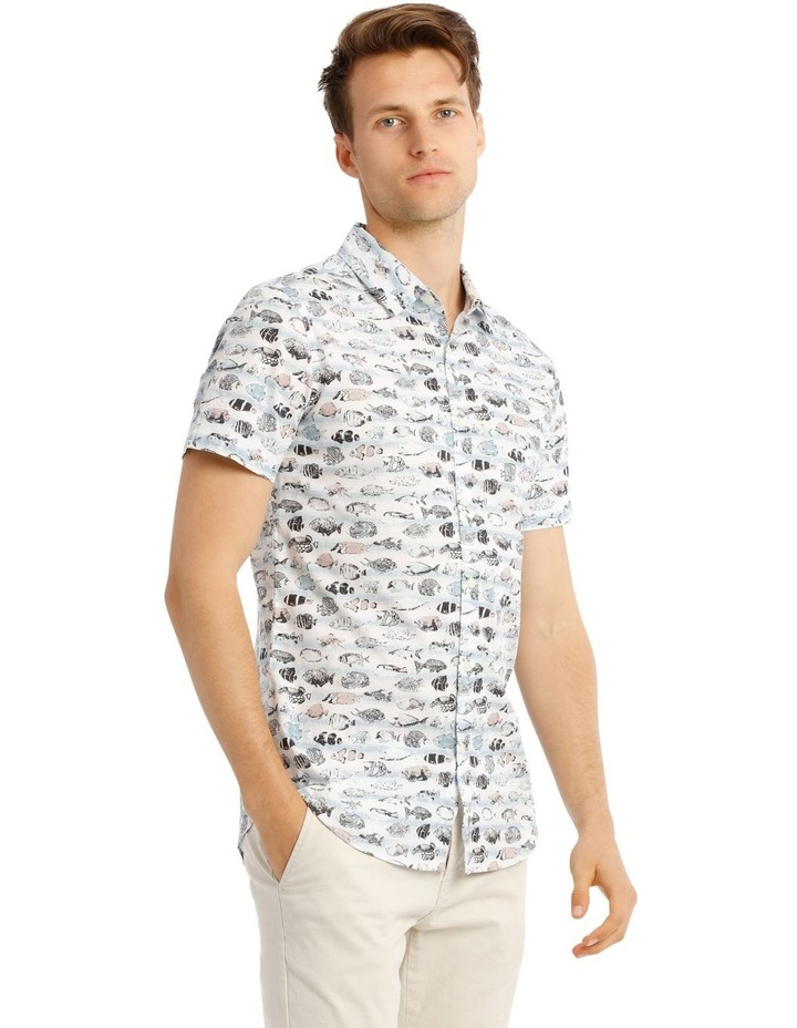 Shark Bait Short Sleeve Print Shirt image 2