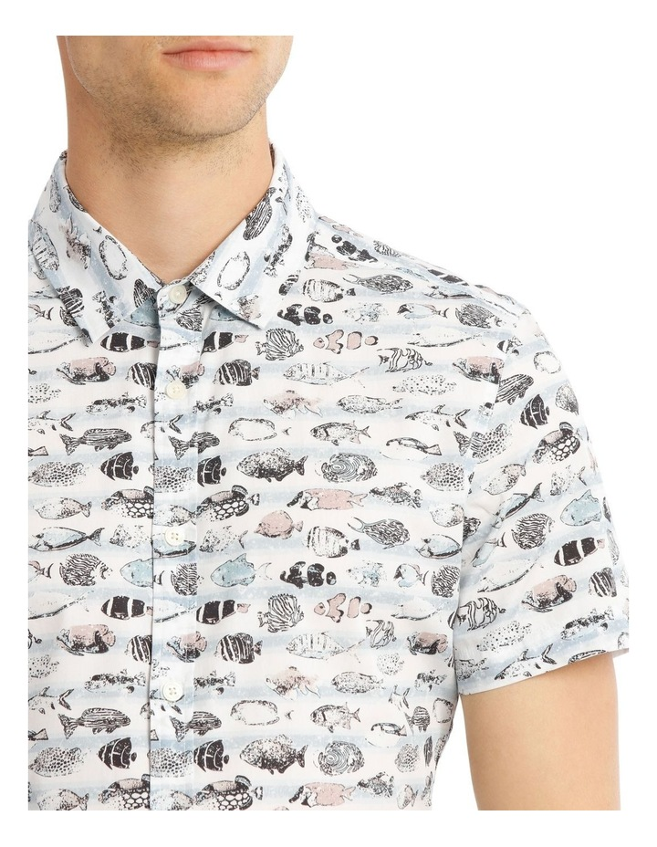 Shark Bait Short Sleeve Print Shirt image 4