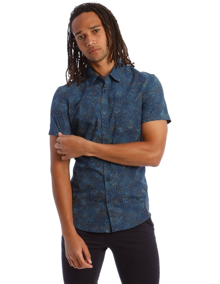 Tortuga Micro Print Short Sleeve Shirt image 1