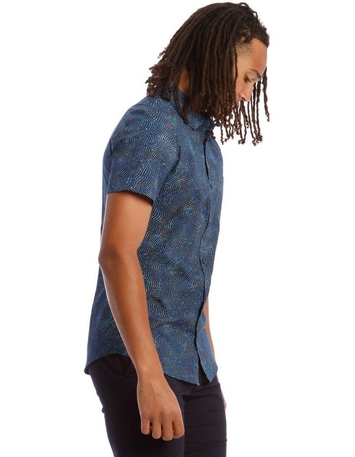 Tortuga Micro Print Short Sleeve Shirt image 2