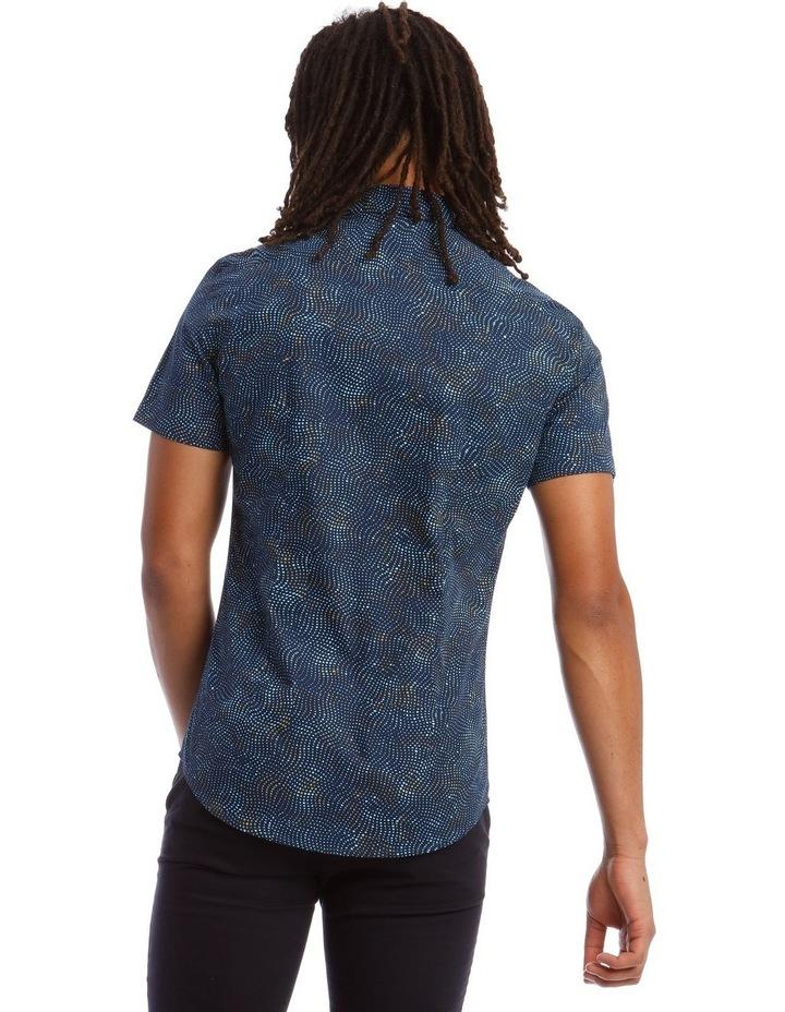 Tortuga Micro Print Short Sleeve Shirt image 3