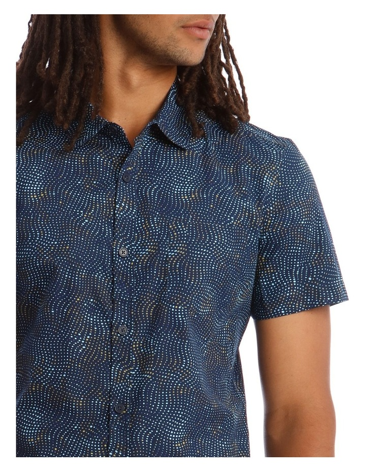 Tortuga Micro Print Short Sleeve Shirt image 4