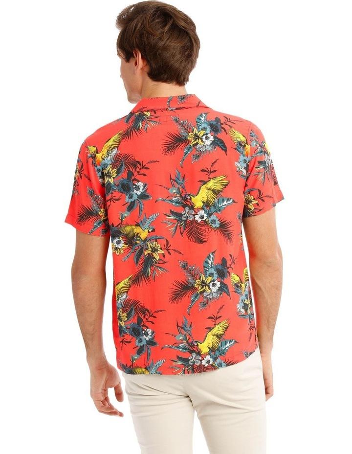 Mayhem Print Short Sleeve Rayon Shirt image 3