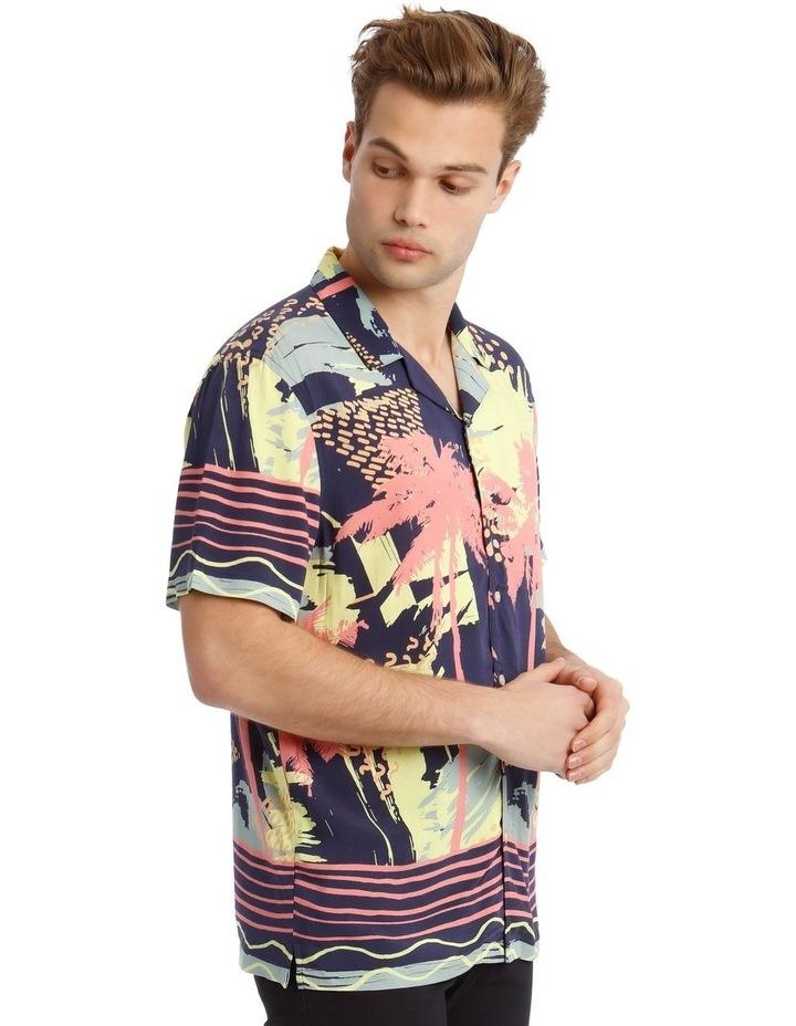 Short Sleeve Sunfest Printed Rayon Shirt image 2