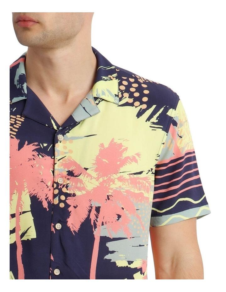 Short Sleeve Sunfest Printed Rayon Shirt image 4