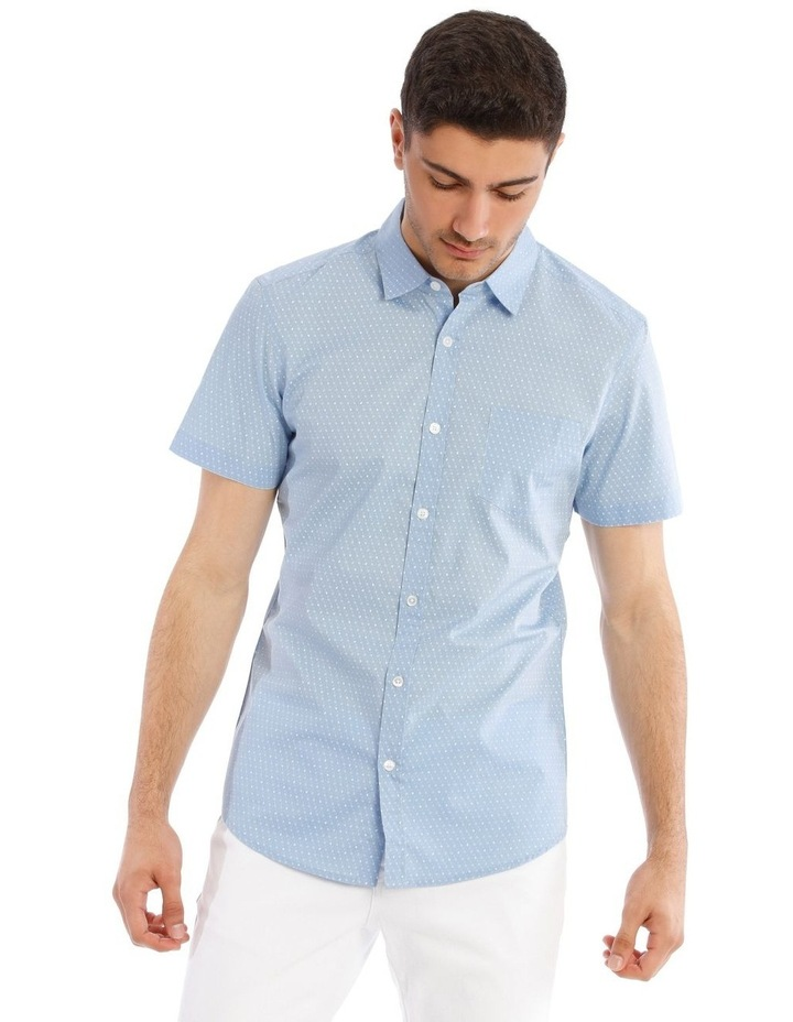 Essence Micro Print Short Sleeve Shirt image 1