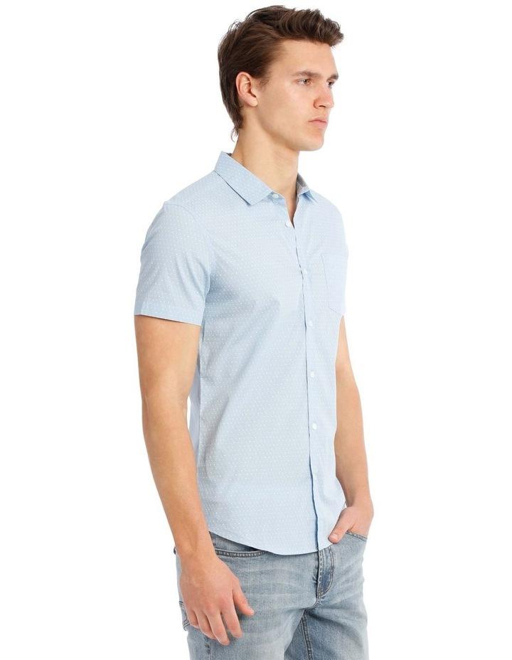 Essence Micro Print Short Sleeve Shirt image 2