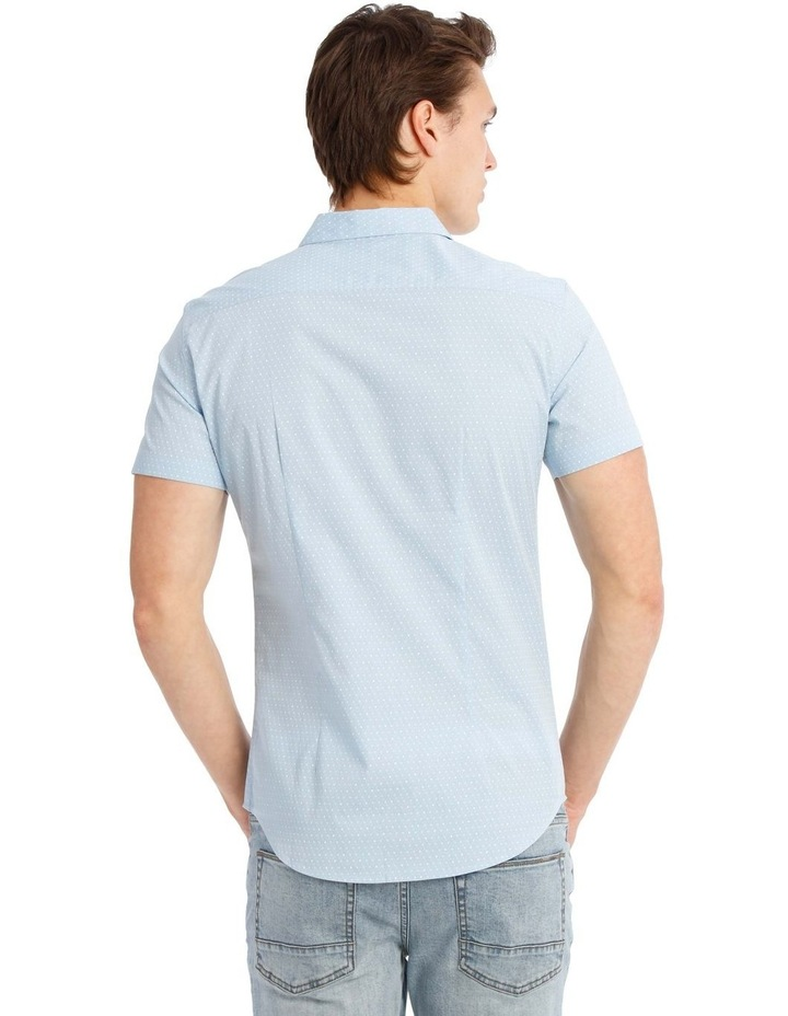 Essence Micro Print Short Sleeve Shirt image 3
