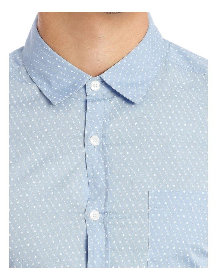 Essence Micro Print Short Sleeve Shirt image 4