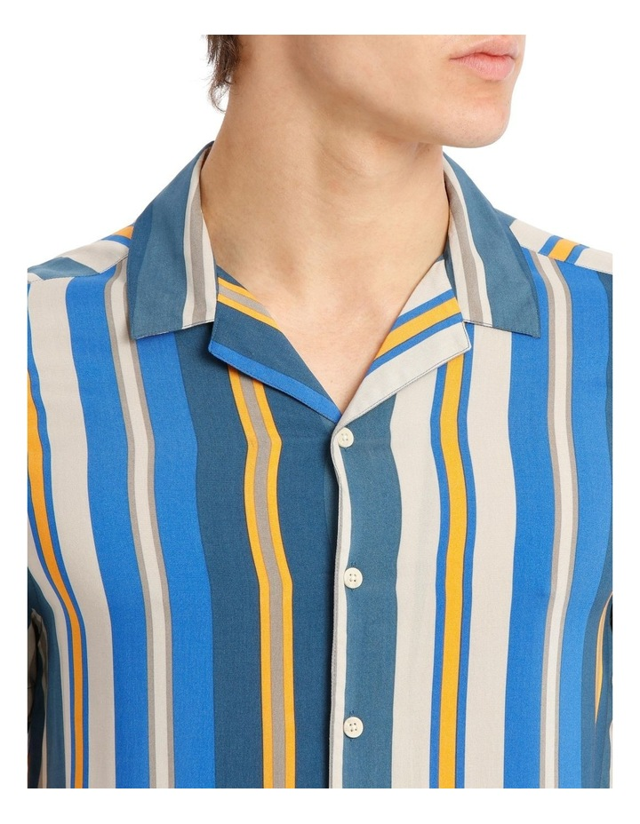Bluegrass Stripe Short Sleeve Rayon Shirt image 4