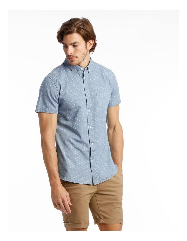 Hang Out Chambray Print Short Sleeve Shirt image 2