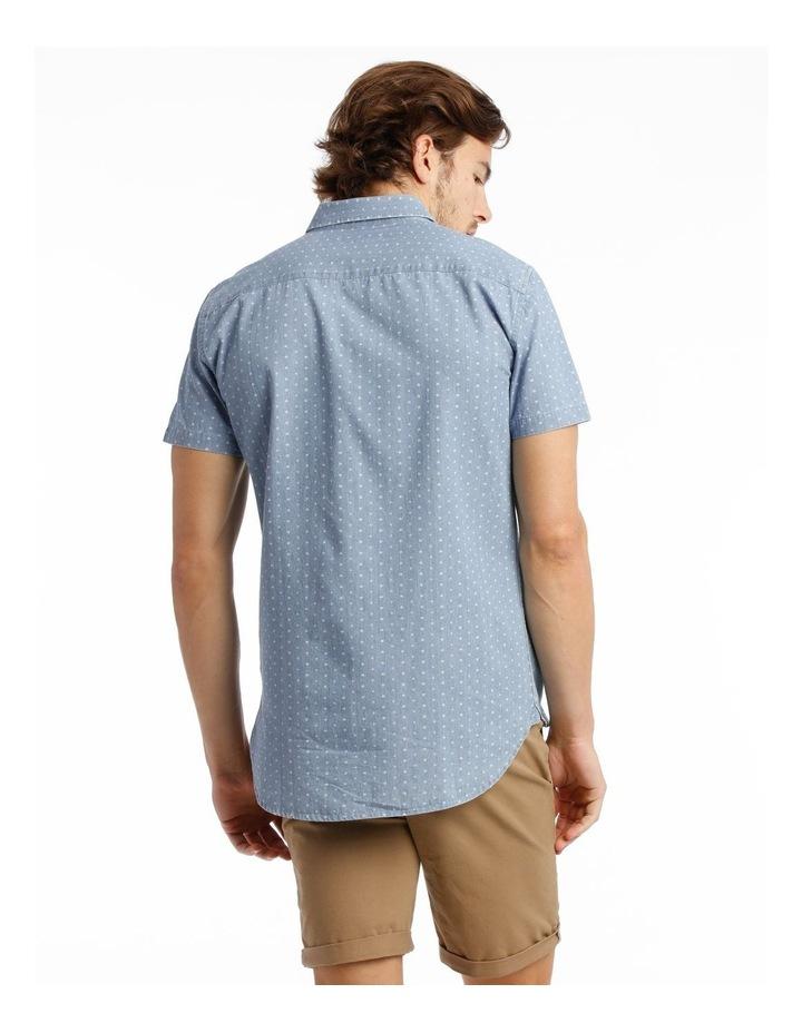 Hang Out Chambray Print Short Sleeve Shirt image 3