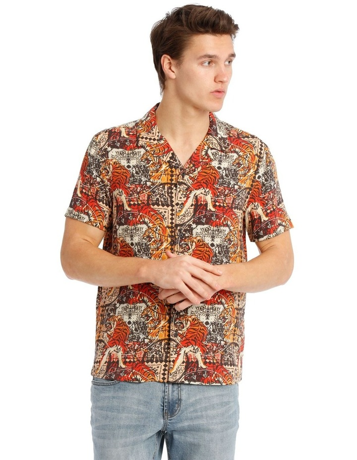 Leebra Print Short Sleeve Rayon Shirt image 1