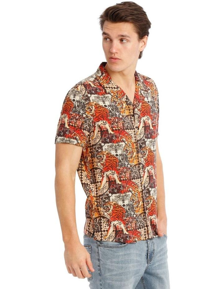 Leebra Print Short Sleeve Rayon Shirt image 2