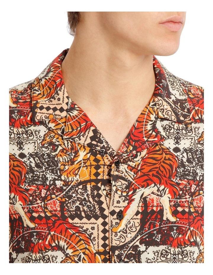 Leebra Print Short Sleeve Rayon Shirt image 4