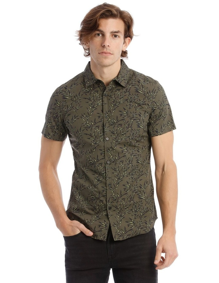 Bamboozled Print Short Sleeve Shirt image 1