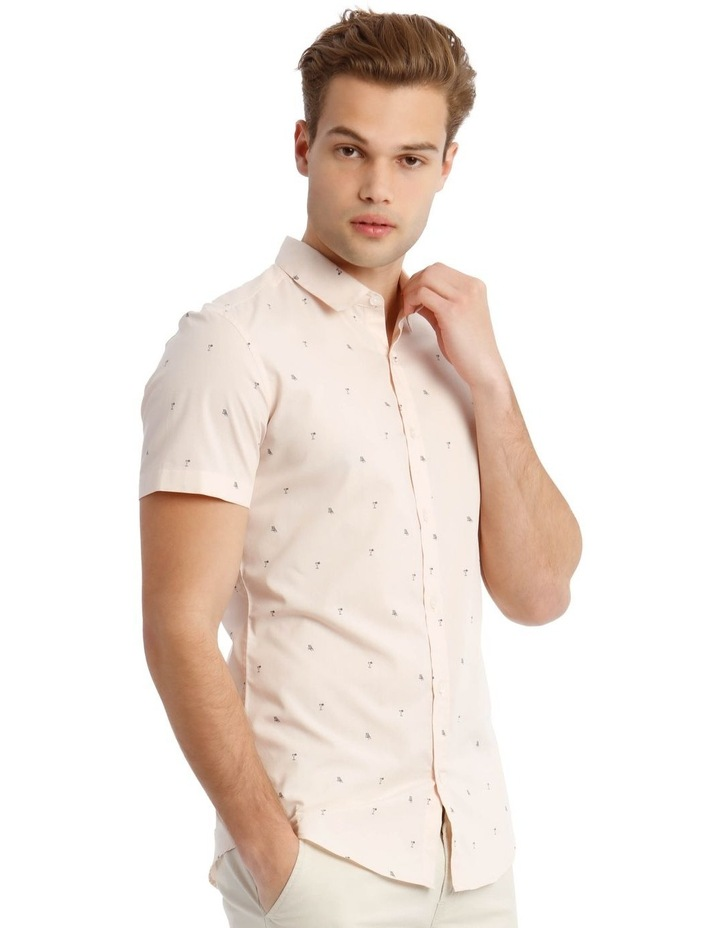 French Twist Convo Print Short Sleeve Shirt image 2