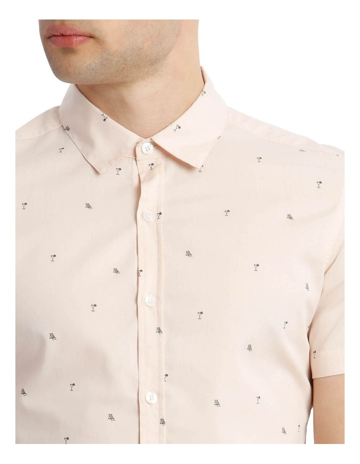 French Twist Convo Print Short Sleeve Shirt image 4