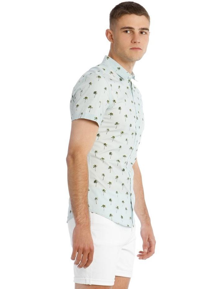 Smugglers Blue Convo Print Short Sleeve Shirt image 2