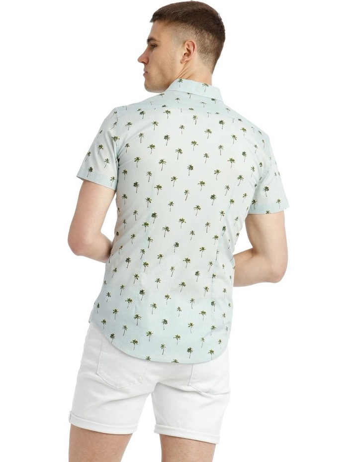 Smugglers Blue Convo Print Short Sleeve Shirt image 3