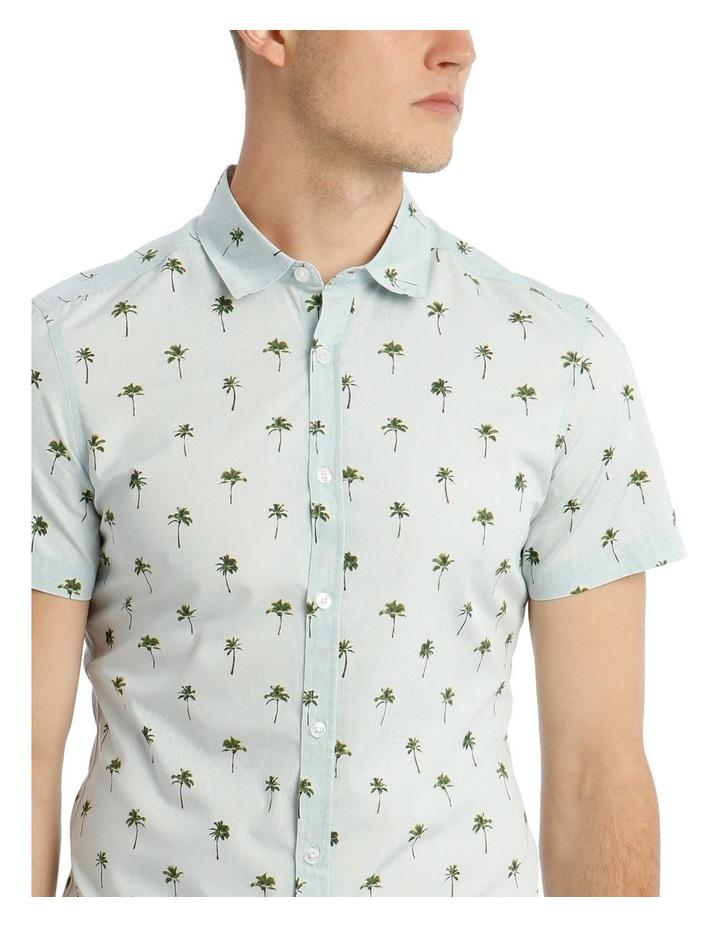 Smugglers Blue Convo Print Short Sleeve Shirt image 4