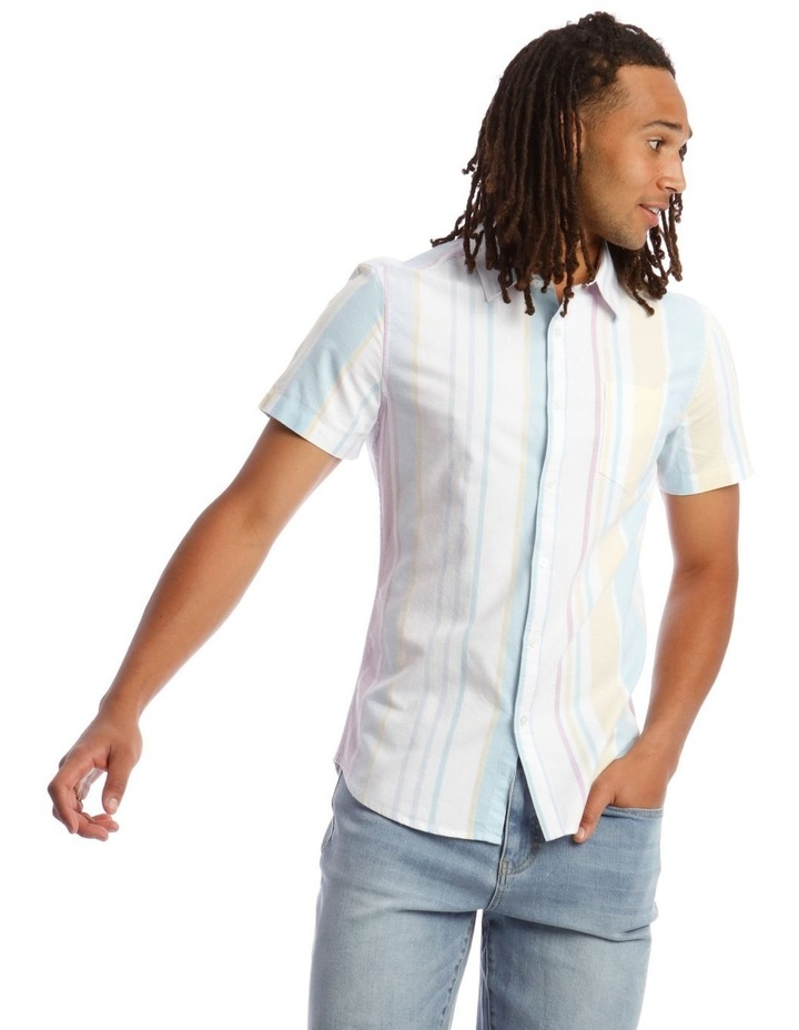 Style of Vice Oxford Stripe Short Sleeve Shirt image 1
