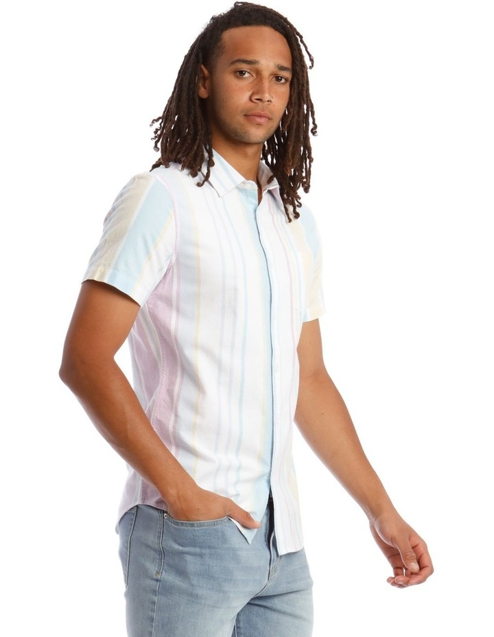 Style of Vice Oxford Stripe Short Sleeve Shirt image 2