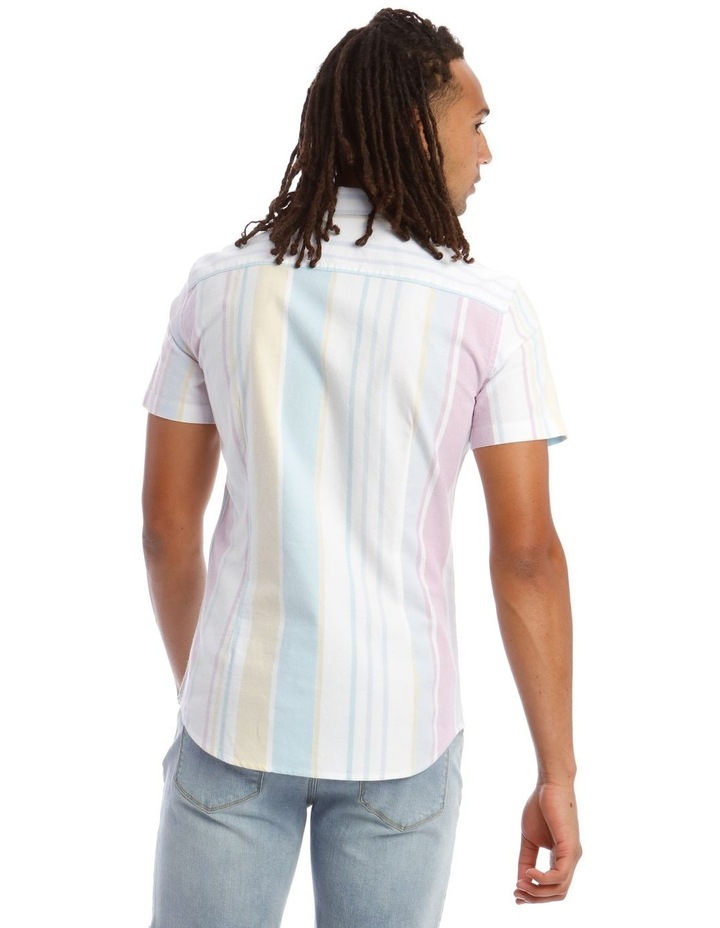 Style of Vice Oxford Stripe Short Sleeve Shirt image 3