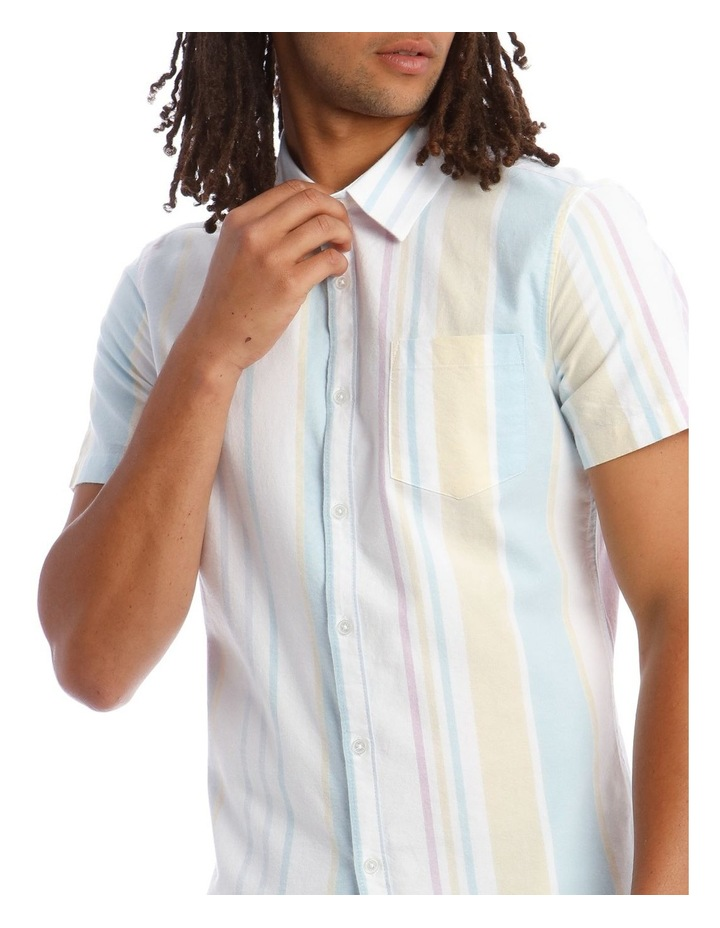 Style of Vice Oxford Stripe Short Sleeve Shirt image 4