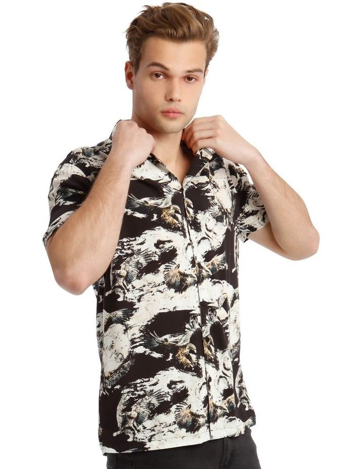 Ziggy Print Short Sleeve Rayon Shirt image 2