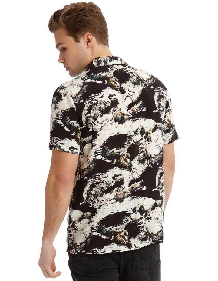 Ziggy Print Short Sleeve Rayon Shirt image 3