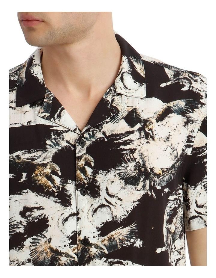 Ziggy Print Short Sleeve Rayon Shirt image 4